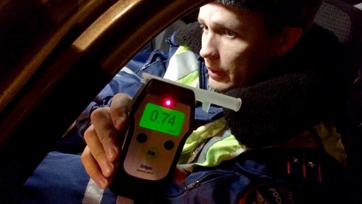 Регулярно попадающегося пьяным за рулем водителя оштрафовали на 200 тысяч