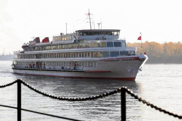 Cудно преодолело путь из Санкт-Петербурга — шесть тысяч километров, включая Северный морской путь и красноярские пороги