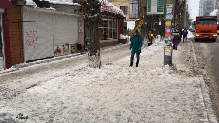 В центре Перми убрали снежную «кучу мэра Самойлова»