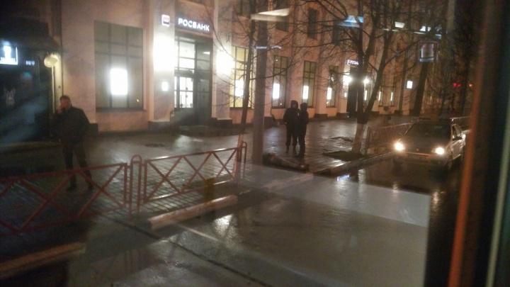 В центре Ярославля погиб руководитель ярославского АТП