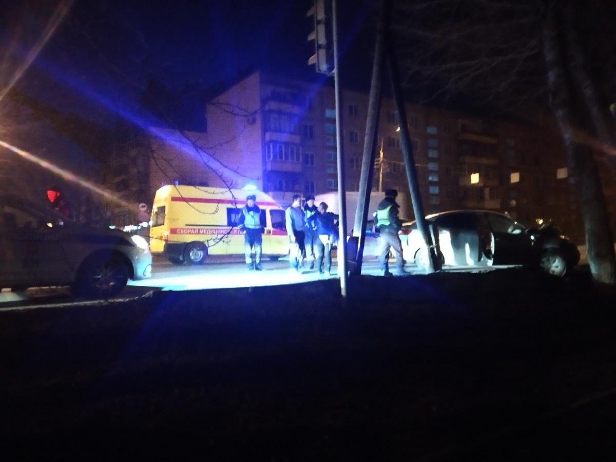 Авария произошла на Северо-Западе Челябинска