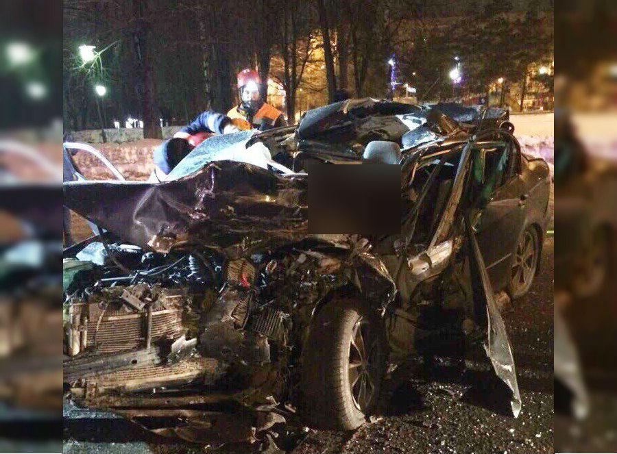 Водитель и пассажир погибли на месте