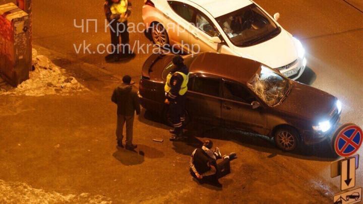Пьяный уходил от инспекторов и врезался в «Солярис»