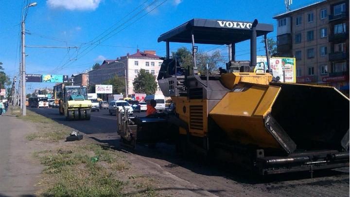 Омский подрядчик опоздал со сдачей шести дорог