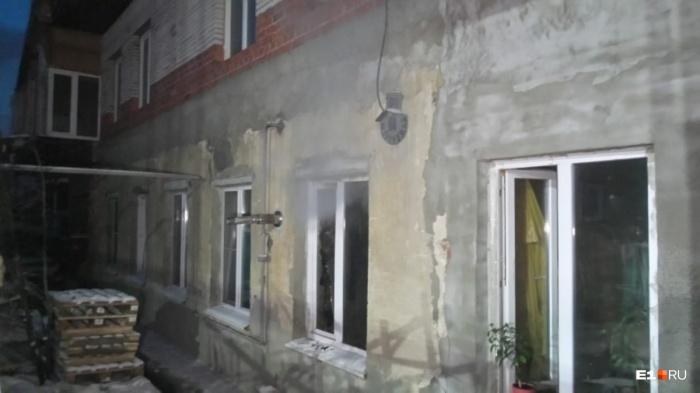 Дом, в котором случилась трагедия