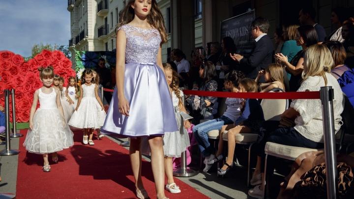 Восемь десятков детей собрались в Новосибирске, чтобы выйти на подиум