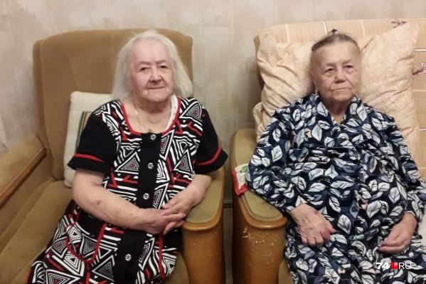 Розалина (слева) и Юлия искали друг друга с 1942 года