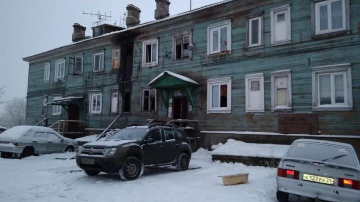 В Архангельске в пожаре погибла женщина, три человека пострадало