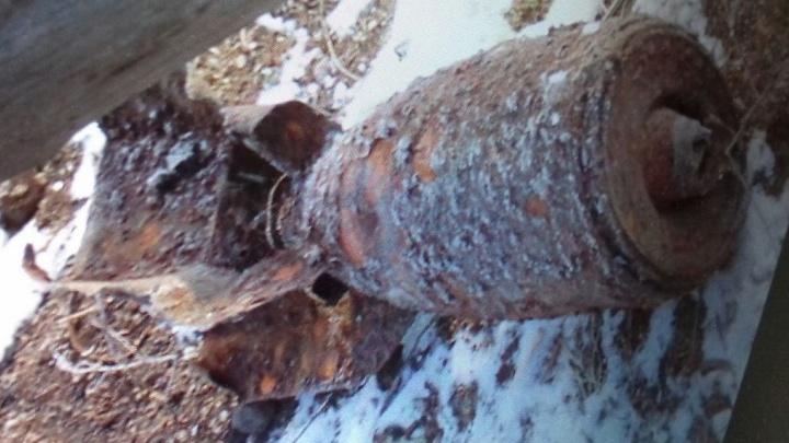 На металлургическом заводе в Свердловской области нашли авиационную бомбу
