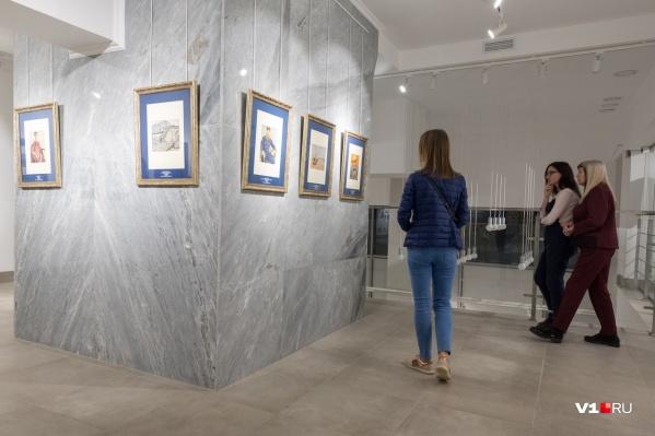 Литографии и ксилографии с работ художников были сделаны в Америке в 1948–1950-х годах