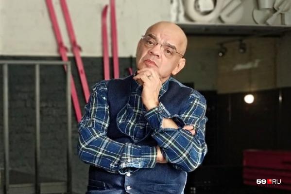 Актер и режиссер Константин Райкин в пермском Театре-Театре