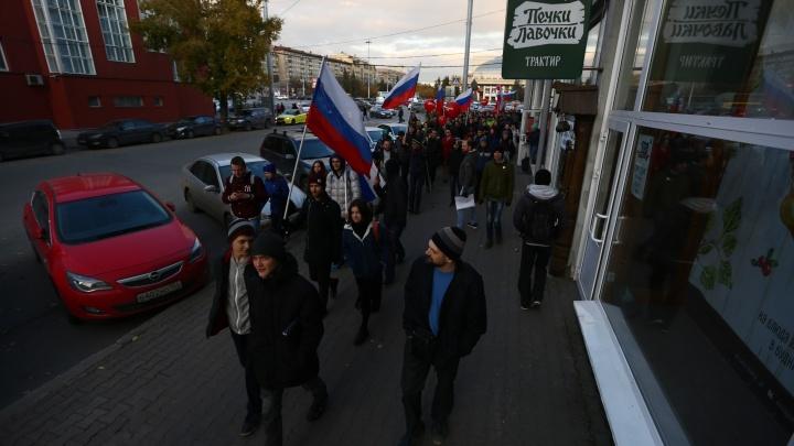 Не так митинговал: активиста задержали после акции в Первомайском сквере