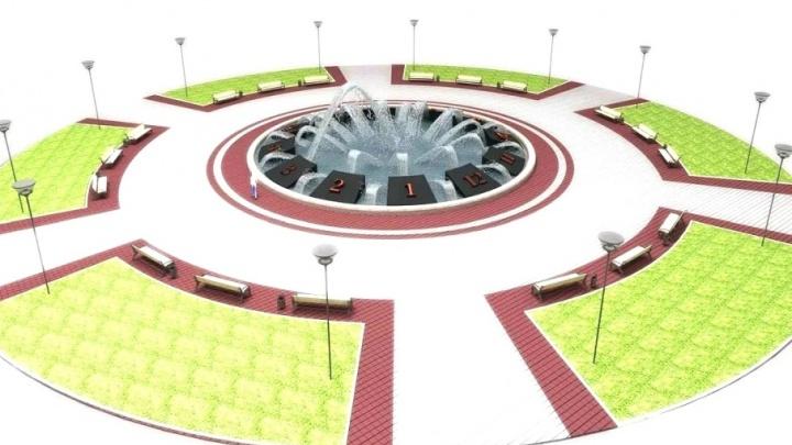 Фонтан-часы в центре Уфы обещают достроить к августу 2018 года