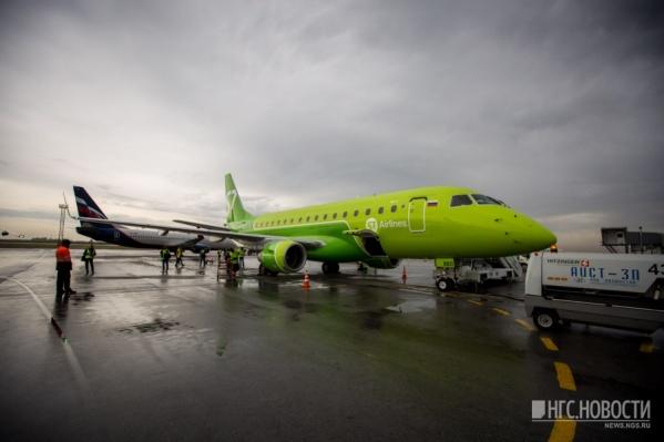 Из Новосибирска в Пермь пассажиров будут возить маленькие бразильские самолёты