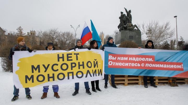«Мы сдохнем от инфекций и грызунов»: в Волгоградской области прошла всероссийская антимусорная акция
