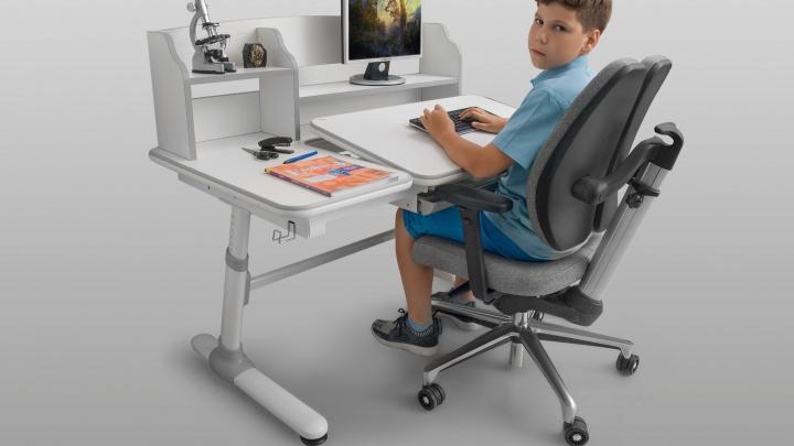 Растущую мебель, которая научит школьников сидеть правильно, продают в рассрочку