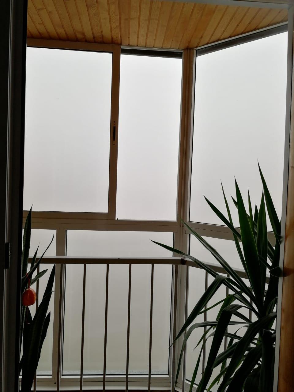 Рано утром Новосибирск окутал туман. Вкупе со смогом видимость упала до десятков метров