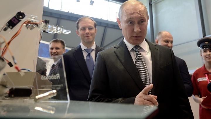 Путин прилетит в Екатеринбург ради встречи с рабочими УВЗ