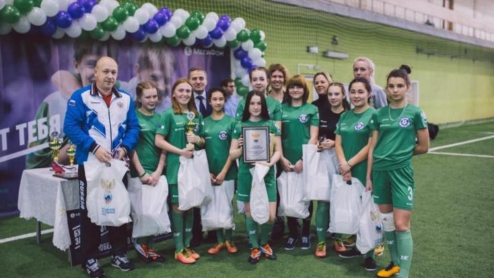 Воспитанницы красноярских детских домов приняли участие в отборочном туре чемпионата мира по футболу