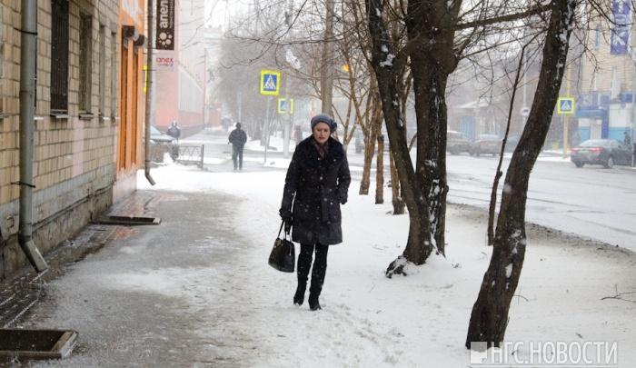 Красноярцев ждут теплые снежные выходные
