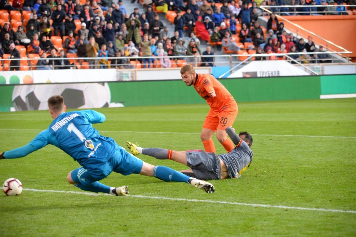 Спасибо, Андрей! Вышедший на замену Панюков принёс победу «Уралу» в матче с «Арсеналом»