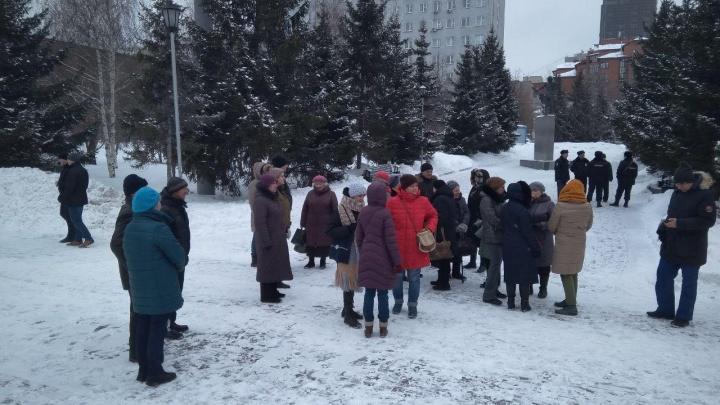 «Город нужно сохранить»: новосибирцы устроили пикет против сноса исторических зданий