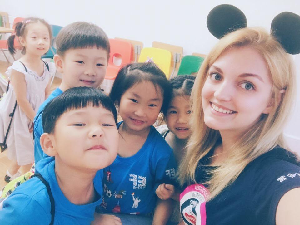 Кристина Столяр — учитель английского языка в провинции Чжэцзян