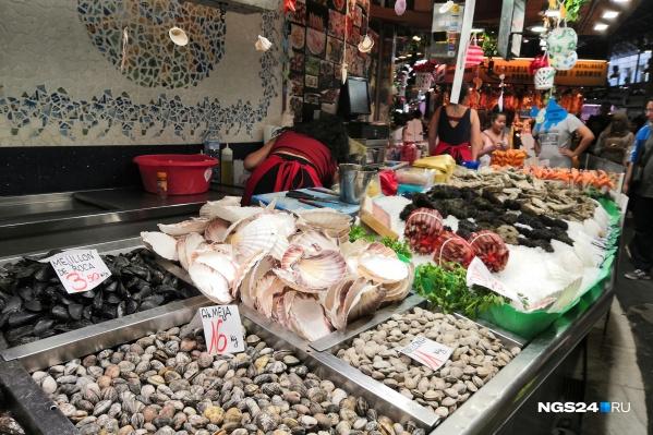 Опасными могут быть рыба и моллюски в определенный период