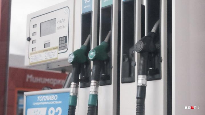 В Прикамье из-за опасного резервуара закрыли автозаправку