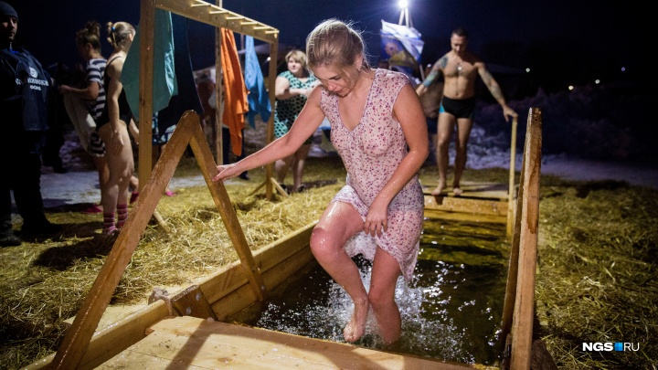 В Новосибирске назвали места для крещенских купаний — показываем их на карте