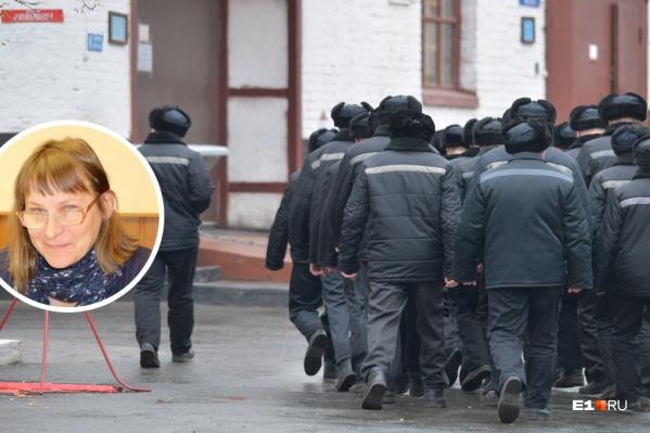 Ольга Вековшинина одной из первых встретилась с бунтующими осужденными