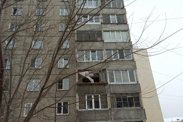Конструкции дома не пострадали