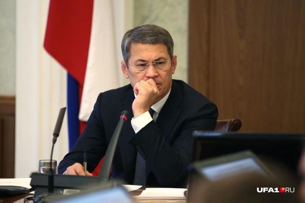 Радий Хабиров остался недоволен