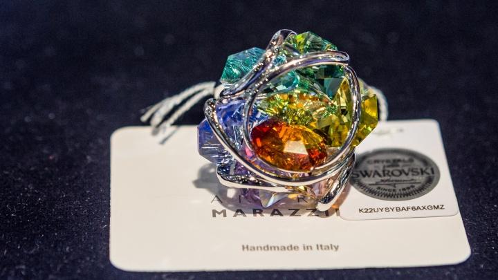 Кольцо за 5,5 миллиона и галстук Шварценеггера: в Новосибирске открылась выставка ювелирных изделий