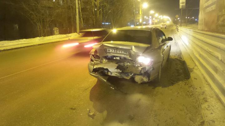 На Блюхера пьяный водитель устроил ДТП с четырьмя машинами