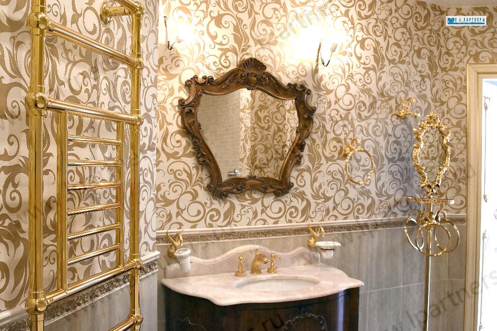 А это, для сравнения, ванная в квартире с самой дорогой стоимостью квадратного метра