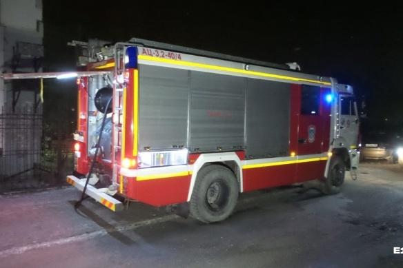 Возгорание произошло вечером 19 ноября