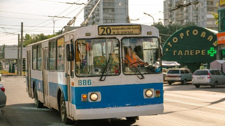 Кадровый вопрос: в Самаре не хватает водителей троллейбусов