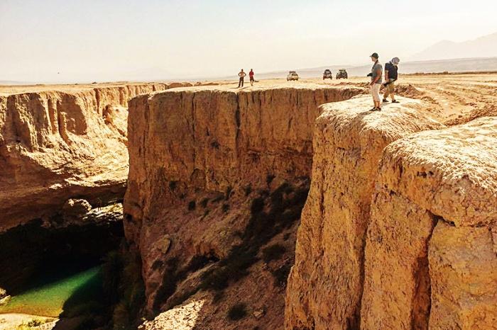 Солончаково-песчаная пустыня Лут