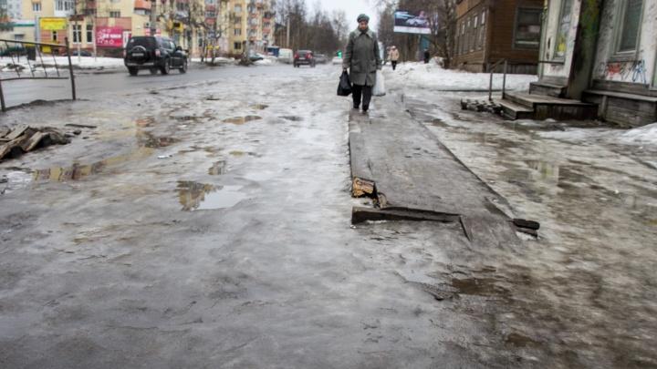 Зима на выходном: в Архангельске 9 января сохранится «скользкая» и ветреная погода