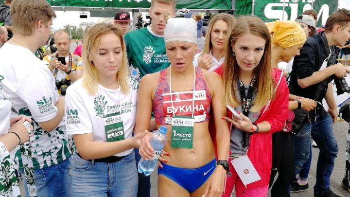 Победителями Сибирского международного марафона снова стали Евдокия Букина и Андрей Лейман