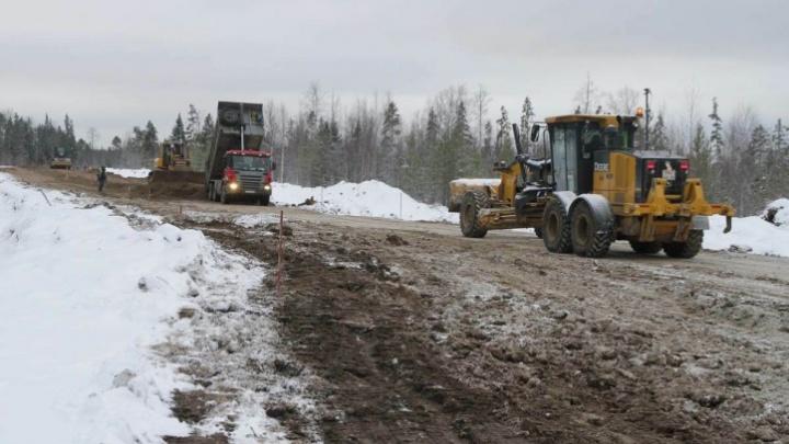 «Техника даже не остывает»: дорогу на Неноксу построят к концу 2020 года