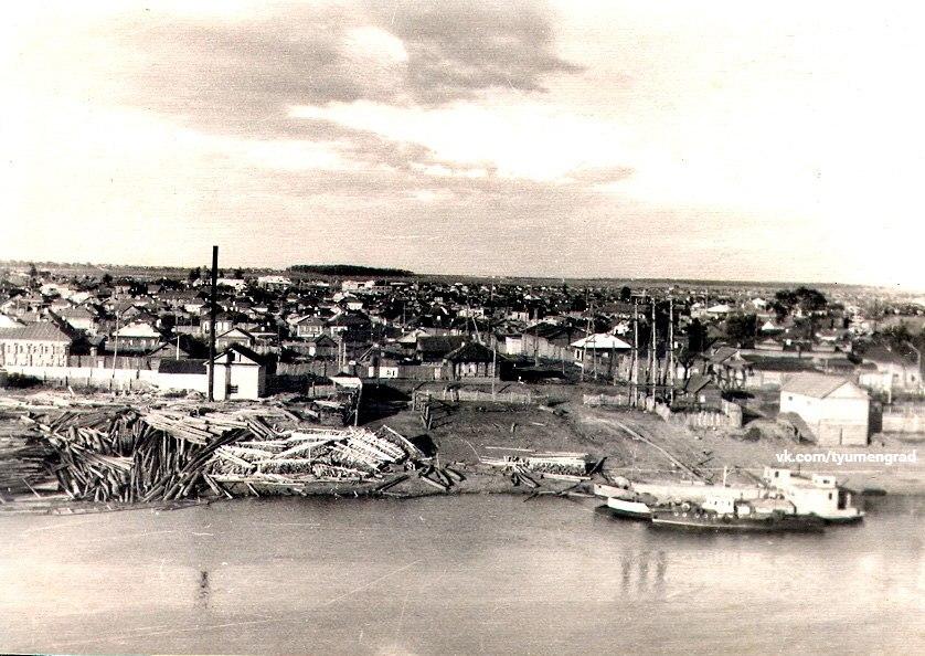 Вид на Зареку, 1956 год