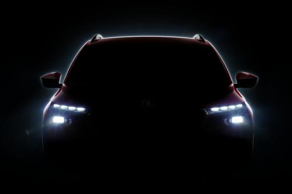 По тизеру Skoda Kamiq можно угадать лишь силуэт новой машины