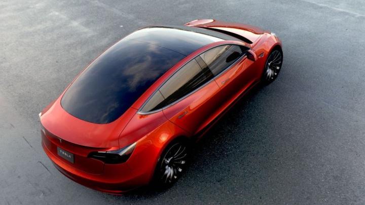 Самая дешёвая Tesla разгоняется за 5,6 секунды