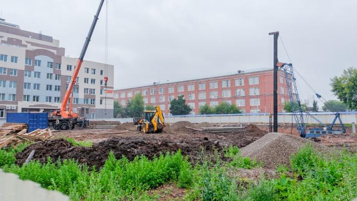 В Перми около БЦ «Белчер» началось строительство высотки бизнес-класса