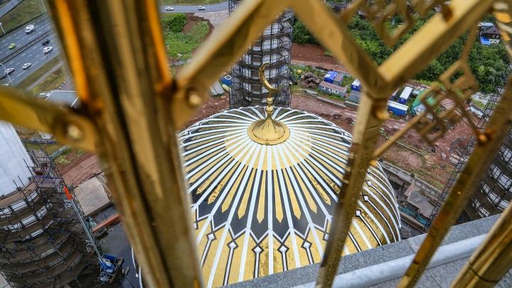 Ар-Рахим после разморозки строительства: показываем изнутри и с высоты самую большую мечеть России