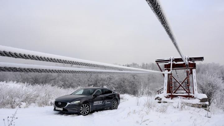 Тест-драйв после рестайлинга: как едет обновлённая Mazda 6 с турбомотором