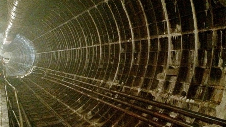 Красноярское метро окутал туман