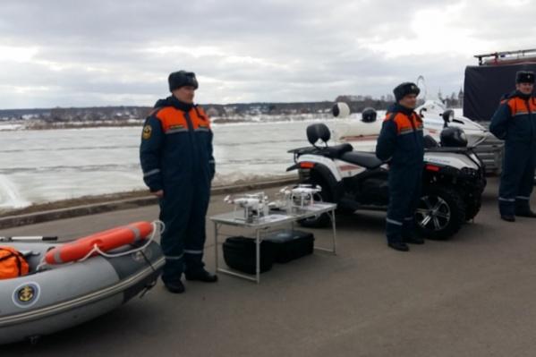 Специалисты Вологодской и Архангельской областей продемонстрировали технику, которая в этом году будет помогать провести ледоход